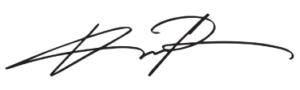 Davidのサイン